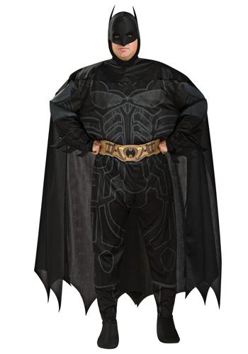 Plus Size Dark Knight Batman Costume