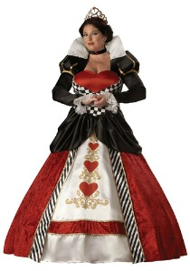 Plus Size Queen of Hearts