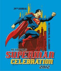 Superman Celebration