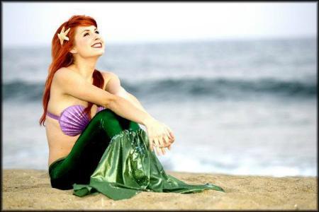 Little Mermaid Traci Hines
