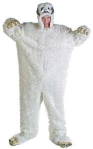 Abominable Snowman Costume Homemade