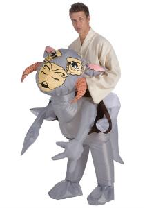 Inflatable tauntaun