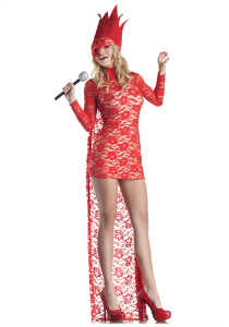 Red Lace Gaga