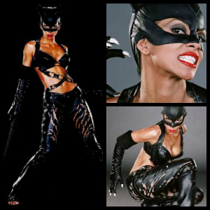 Halle Berry Catwoman collage