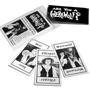 Are You a Werewolf Cards