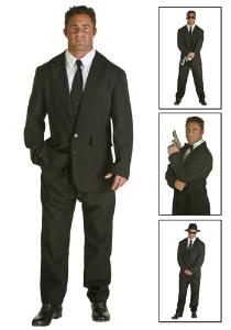 Black Suit Costume