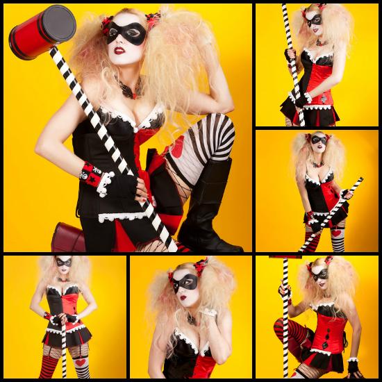 Candy Keane Harley Quinn