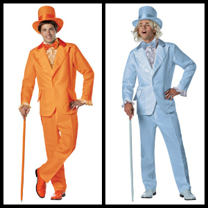 Dumb and Dumber tuxedo costume collage