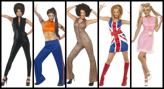 Spice Girls Collage