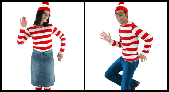 Wheres Waldo and Wenda costume collage