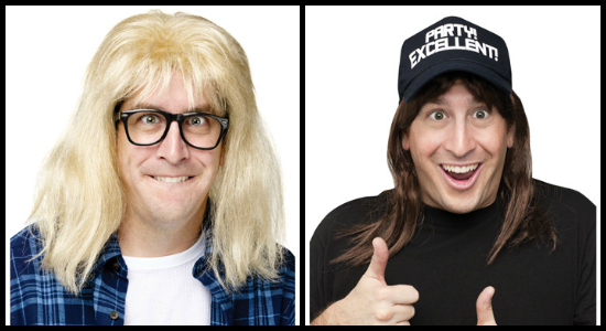 Waynes World Collage