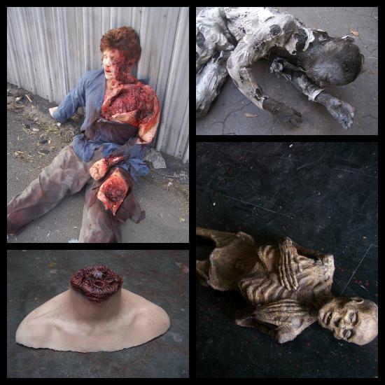 Dapper cadaver collage