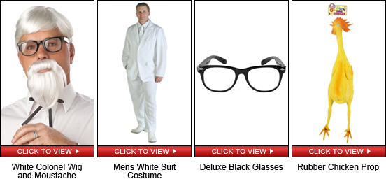 Colonel Sanders Quick Shopping Guide
