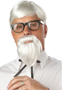 Colonel wig and beard