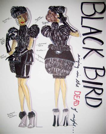 Black Bird by Marrisa Wilson