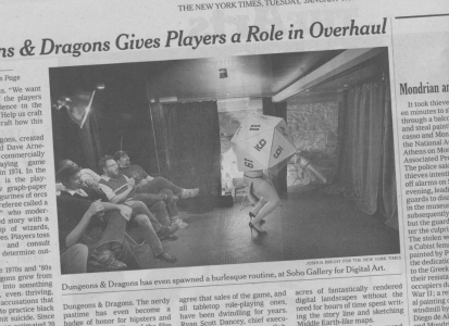 D20 burlesque in NYT