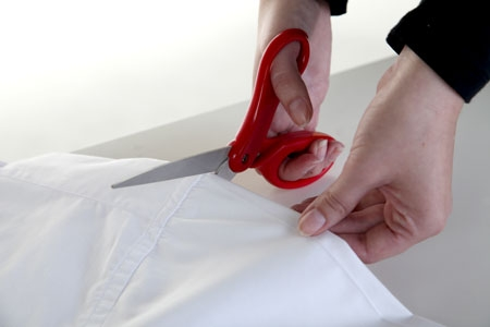 cutting the PSY gangam style tux