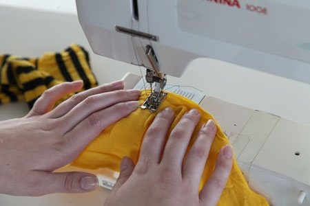 Sewing the yoo jae suk scarf