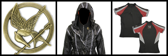Hunger Games costume pieces