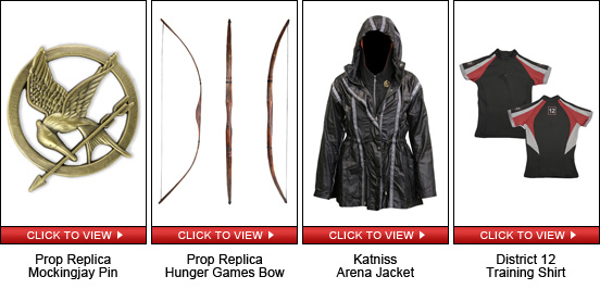 Katniss Hunger Games Quick Shopping Guide