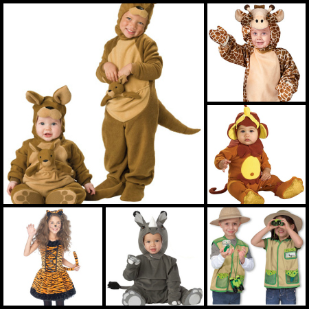 Kids Safari costumes