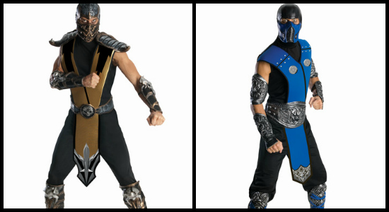 mens mortal kombat costumes