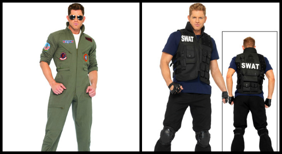 mens uniform costumes