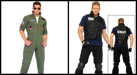 mens uniform costumes