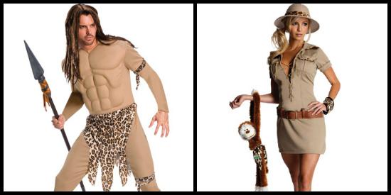 Safari costume ideas for 2012 halloween costumes blog tarzan and jane costumes solutioingenieria Gallery