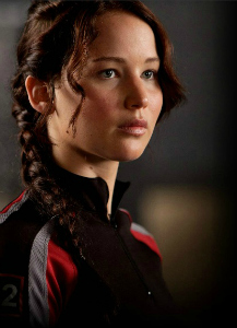 Katniss from Hunger Games