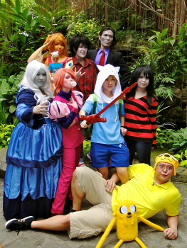Jin Joson Adventure Time Cosplay