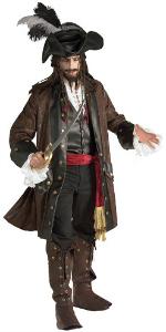 authentic carribean pirate