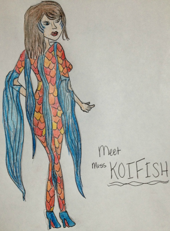 Koi Fish by Melissa Som