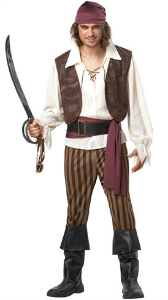 Pirate costume ideas for 2012 halloween costumes blog captain jack sparrow who was not in fact a bird but rather a man was certainly a handsome fella yar har he was gorgeous do you fancy yourself solutioingenieria Gallery