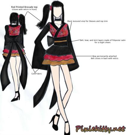 WaLolita Kimono by Jamie Herron of PixieKitty