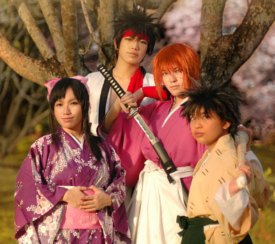 Jin Joson Rurouni Kenshin Photo Shoot