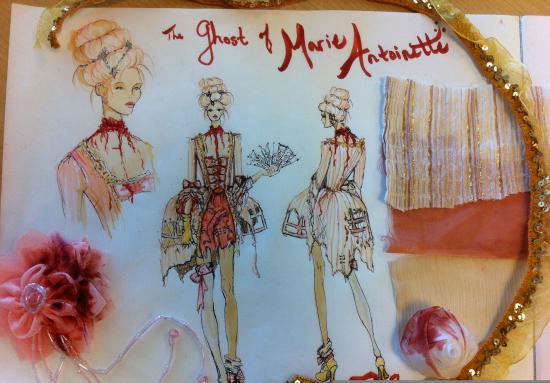The Ghost of Marie Antoinette by Cierra Treloar