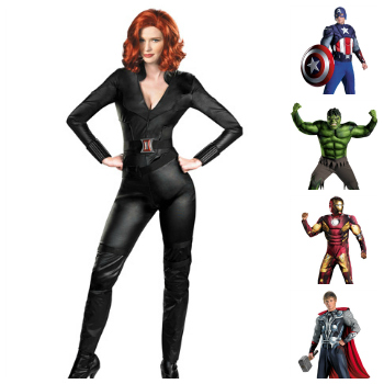 Avengers characters couple costume idea  sc 1 st  Halloween Costumes & Coupleu0027s Costumes Ideas for Halloween 2012 - Halloween Costumes Blog