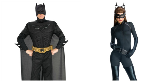 Dark Knight couple costume idea