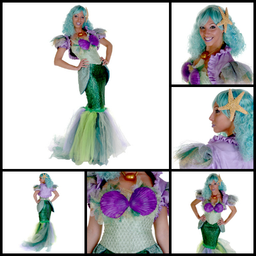 mermaid queen by christa newman