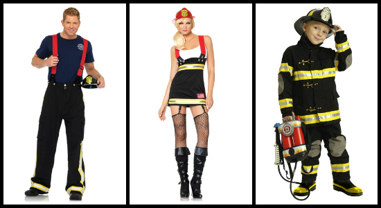 firefighter costume ideas