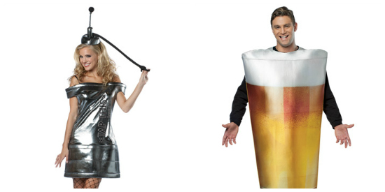 Funny Beer couple costume idea