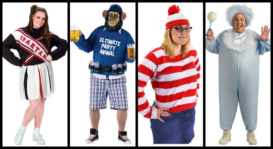 funny plus size costume ideas