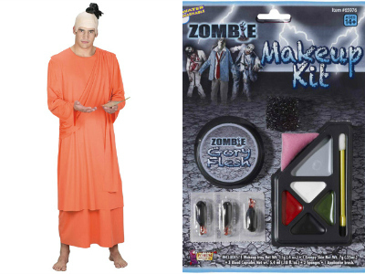 zombie hare krishna collage