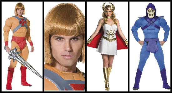 he man she ra and skeletor costumes