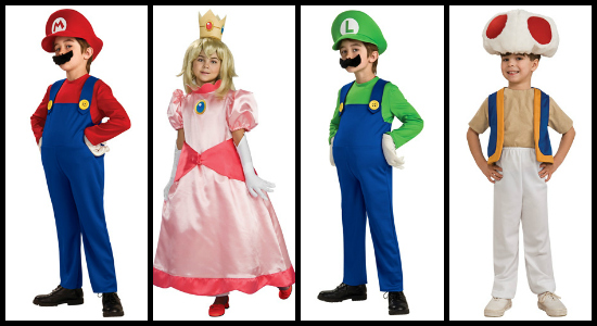 kids mario costume ideas