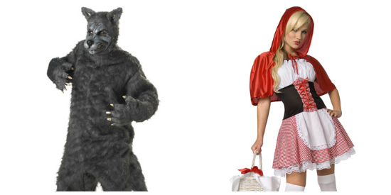 Little Red Riding Hood couple costume idea