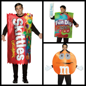 Skittles Wrapper Costume...