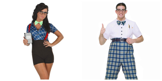 Nerd couple costume idea