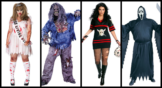 scary plus size costume ideas